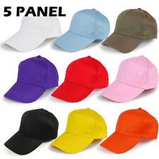 72cb81d6 Unisex Baseball Cap Brushed Cotton Low Profile Plain Sports Summer Hat