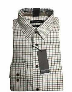 100% BRUSHED COTTON BROWN CHECK WARM HANDLE COUNTRY HUNTING SHIRT BY DOUBLE TWO