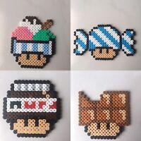 Pixel Art Perles A Repasser Champignon Mario Serie 1 Ebay