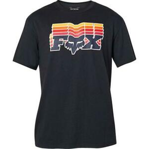 Fox Racing Off-Beat Tee Short Sleeve T-Shirt Black New
