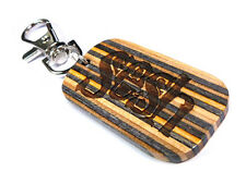RECYCLED SKATEBOARD Dog Tag Keyring Personalised Engraved Cool Unusual Gifts