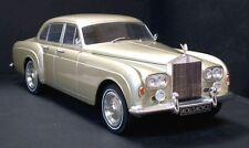 Mcg modèles 1/18 diecast 1965 rolls royce silver cloud iii 3 flying spur lt gold