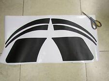 Porsche 944 BLACK TEXTURE stone chipping protective film Paint guard sticker set