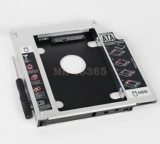 New 2nd Hard Drive HD SSD Caddy Adapter for Fujitsu lifebook T580 T730 T900 T901