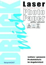 Photo Paper Print Mich Laser 50 Sheets A3 160g G/M ² Glossy 2-seitig