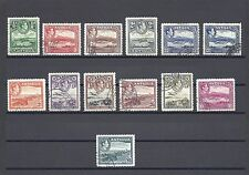 ANTIGUA 1938-51 SG 98/109 + SHADE USED Cat £140