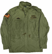 ***X-Large***Polo Ralph Lauren Unisex Military Army American Flag Coat Jacket