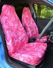 Pink Tarnfarbe Wasserfest Auto / Lieferwagen Sitzbezüge & ! UK Hergestellt