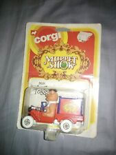 vintage Corgi The Muppet Show FOZZIE BEAR CAR New diecast vehicle