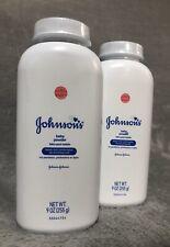 2 Qty~9 Oz. Johnson's Talc Baby Powder Hypoallergenic Paraben Free