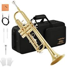 NEW Eastar Bb Standard Trumpet Set for Beginner w/ Case & Cleaning Kit