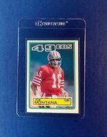 1983 Joe Montana Topps #169 San Francisco 49ers Football Card HOF