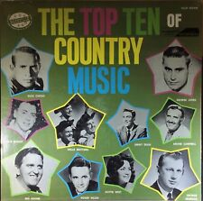 Various - The Top Ten Of Country Music - Nashville Records - Vinyl - SEALED