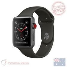 Genuine Apple Watch Series 3 42mm Space Grey Aluminium Case with Grey Sport Band