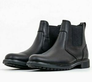 [5551R] Men's Timberland Stormbuck Chelsea Boots - Black *NEW*