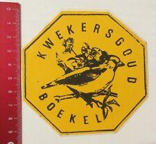 Aufkleber/Sticker: Kwekersgoud Boekel (200416125)