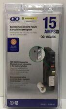 (New) Square D QO115CAFIC QO Combination Arc Fault Circuit Breaker 15A
