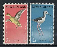 New Zealand 1959 SG#776-7 Health Stamps Birds MNH Set #A74504
