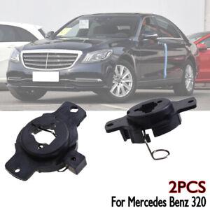 2PCS H1 Xenon Bulb Socket Holder Adapter Retainer Clip For Mercedes Benz 320