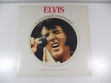 ELVIS A LEGENDARY PERFORMER USA   LP 33 GIRI DISCO VINILE