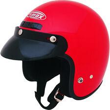 GMAX GM2 Open-Face Kids/Kids Motorcycle Helmet (Red) Choose Size
