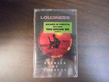 "NEW SEALED ""Loudness"" Soldier Of Fortune Cassette  Tape   (G)"