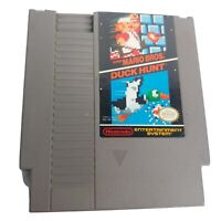 Nintendo NES Super Mario Bros Duck Hunt Video Game Japan Works 1985 Retro Gaming