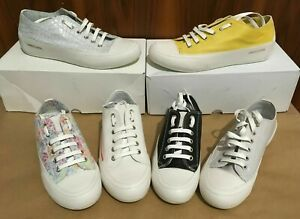 CANDICE COOPER Damen Ledersneaker Low/Mid-Top Schnürer EU 35, 36, 37, 41, 43 NEU