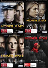 Homeland Season 1 2 3 4 : NEW DVD