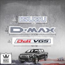 Logo Sticker Badge Decal Plate ISUZU D-MAX Ddi VGS Fit Isuzu Dmax