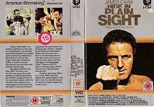 HIDE IN PLAIN SIGHT VHS PAL JAMES CAAN,JILL EIKENBERRY,DANNY AIELLO RARE 80'S