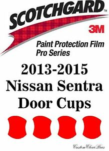 3M Scotchgard Paint Protection Film Pro Series Fits 2013 2014 2015 Nissan Sentra