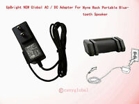 NEW AC Adapter For Nyne Rock Splashproof Portable Bluetooth Speaker Power Supply