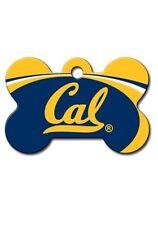 NCAA California Bears Engraved Dog Bone Pet ID Tag w/ Free Chain Ring ON SALE