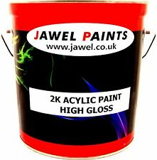 Car Paint 2K Acrylic ANY COLOUR OF YOUR CHOICE Gloss 2.5 Litre Paint Only