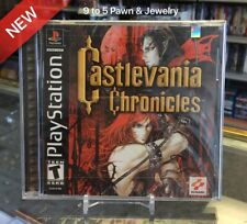 Brand New Factory Sealed PS1 CASTLEVANIA CHRONICLES - BLACK LABEL (9to5pawn)