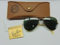 Ray-Ban Aviator Shooting Sunglasses G-15 Gray B&L with case