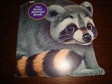 The Baby Animal Book 1972 Golden Press - Vintage Children's Book