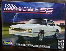 Revell Monogram 4496 1986 Chevrolet Monte Carlo SS 2 in 1 Plastic Model Kit 1/24