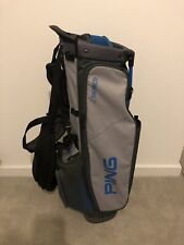 PING 4 SERIES CARRY STAND BAG GREY BLUE 4 WAY DIVIDER