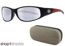 Gafas de sol de hombre de espejo Harley-Davidson de plástico