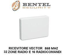 ricevitore radio espansione ricevente bentel 32 zone wireless 868 mhz vrx vector