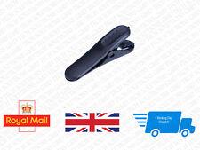 Headphone Earphone Cable Cord Wire Lapel Clip Nip Clamp Holder Black #0005