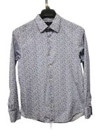 Banana Republic Men's size M Slim Fit Long Sleeve Button Down Floral Shirt