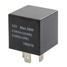 Señal de vuelta Indicador intermitente Relé Interruptor Unidad 12V eléctrico Intermotor 58901