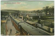 More details for the station, grants house - berwickshire postcard - railway (p1376)