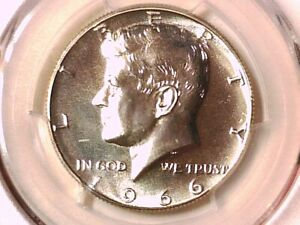 1966 P Kennedy Half Dollar PCGS SP 67 SMS 37259865