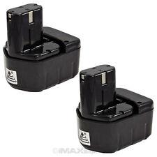 2 x 12V 2.0AH Ni-Cd Pod Battery for Hitachi EB1214L EB1220HL EB1222HL EB1226HL