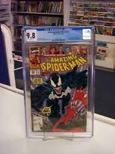 AMAZING SPIDER-MAN #332 (Marvel Comics, 1990) CGC 9.8 ~ VENOM ~ White Pages