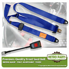 Front Static Seat Belt For Volvo 760 Saloon 1983-1992 Blue